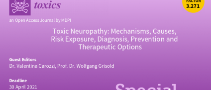 Special issue on Toxic Neuropathy open for submission